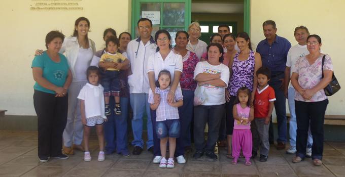 Presupuesto Participativo realizó una visita a la Escuela N°412