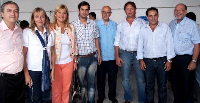 Nancy Sand visitó la Escuela Ramos Mejía en la apertura del ciclo lectivo
