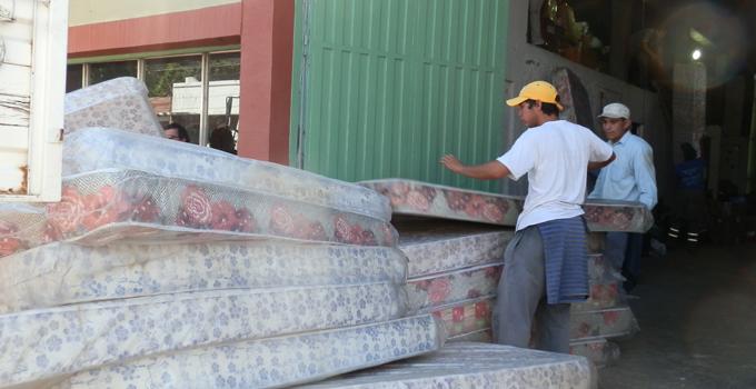 El Ministerio de Desarrollo Social de la Nación envió ayuda para damnificados por el desastre climático