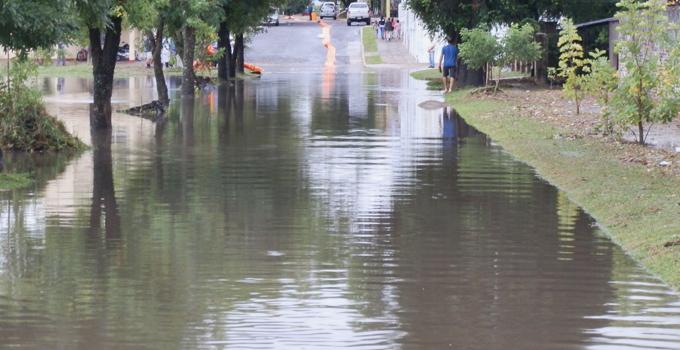 La Municipalidad de Bella Vista realiza fuerte operativo de asistencia por inundaciones