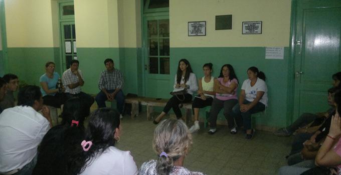 Funcionarios del Municipio se reunieron con vecinos de Lomas Este