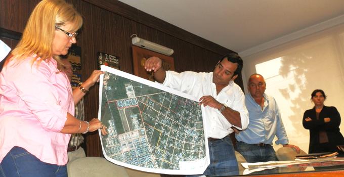 Se presentó el proyecto de Desagüe Integral para la Zona Sur de la ciudad