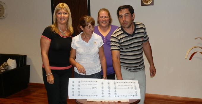 La Municipalidad de Bella Vista premió a los trabajadores en su día