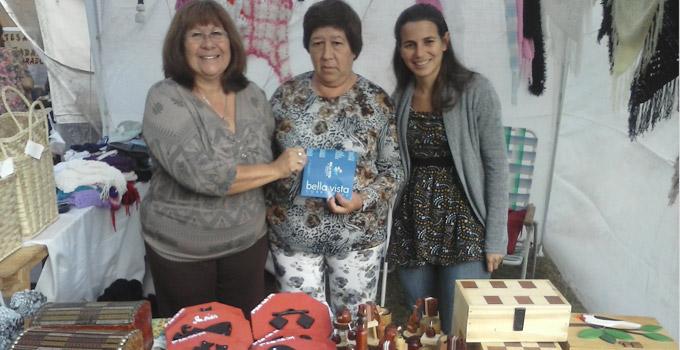Artesanas Bellavistenses en la Fiesta Provincial de la Artesanía