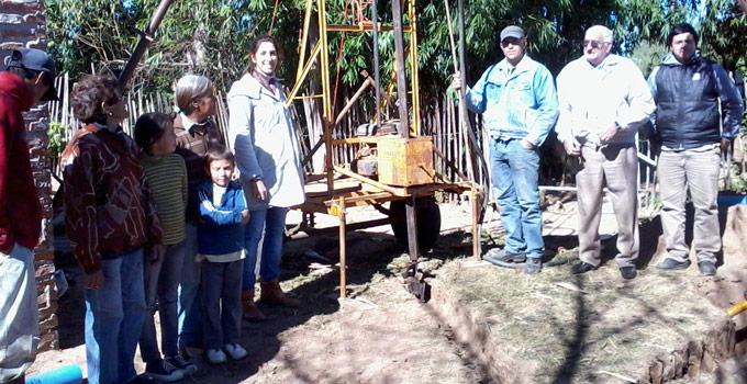 La Municipalidad de Bella Vista colocó bombas en Lomas Sur