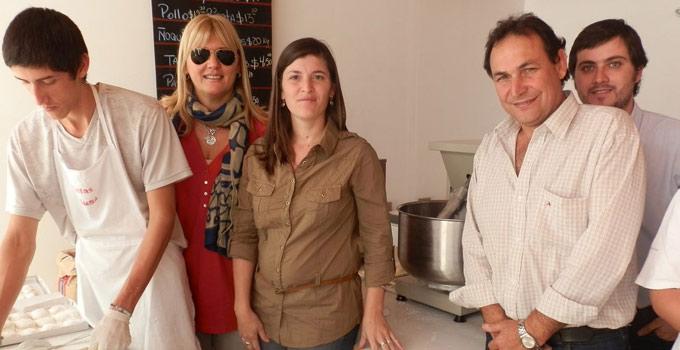 La intendente Nancy Sand inauguró proyecto productivo de pastas frescas