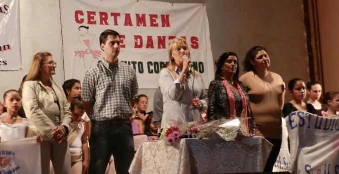 """Nancy Sand dio la bienvenida en el certamen de baile """"Danza y Río"""""""