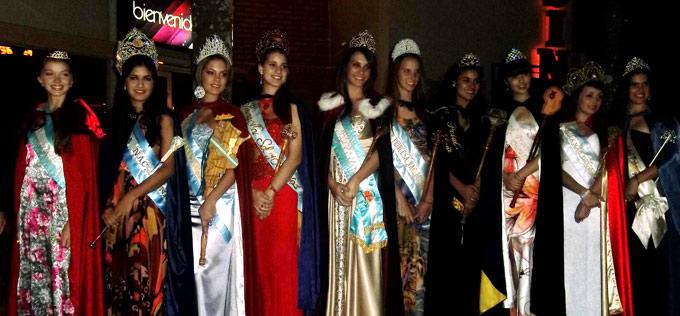 La Reina Nacional de la Naranja participó de la Fiesta de la Madera