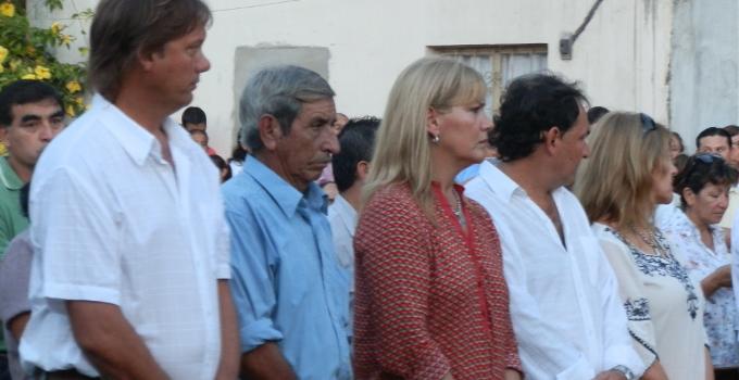 Nancy Sand festejo el día del trabajador en San José Obrero