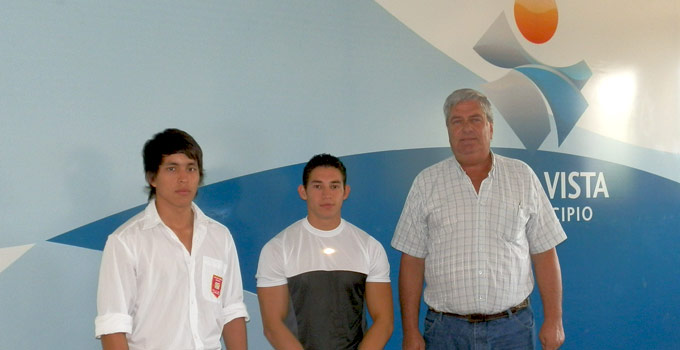La Municipalidad de Bella Vista apoya a taekwondista local
