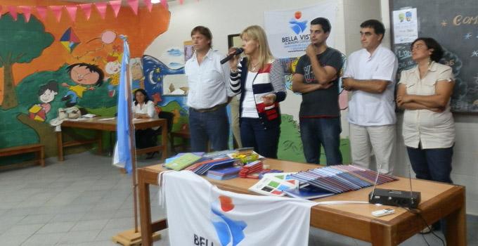 Nancy Sand inauguró los talleres comunitarios de integración