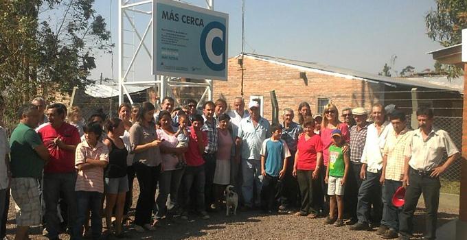 Nancy Sand inauguró otra planta potabilizadora en Bella Vista