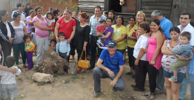 El Municipio realizó importante entrega en el Barrio Transportista