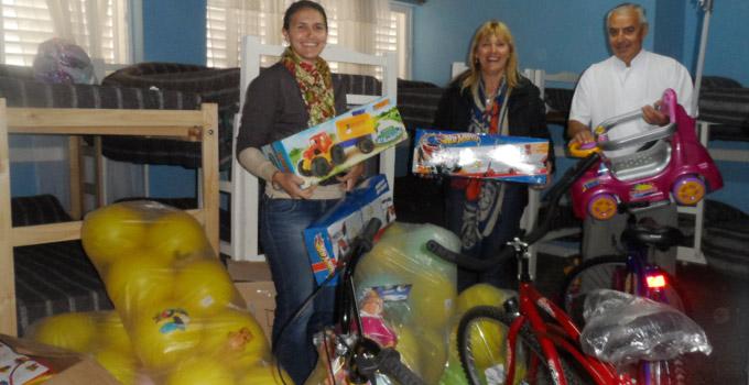 Se prepara el festejo por el Día del Niño organizado por el Municipio de Bella Vista