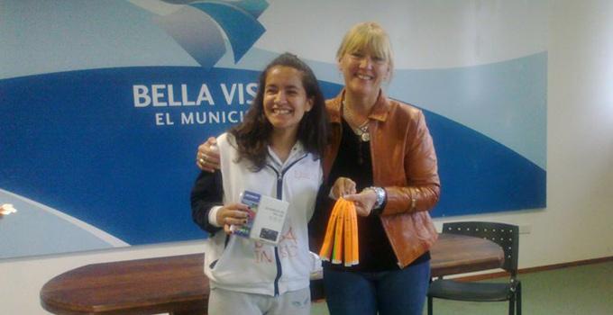 """Nancy Sand premió a los ganadores del Concurso """"Antes y Después de Mí Ciudad"""""""