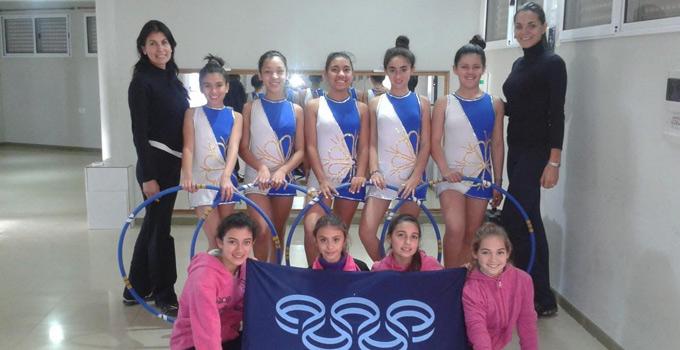 La delegación de gimnasia rítmica viaja a Corrientes