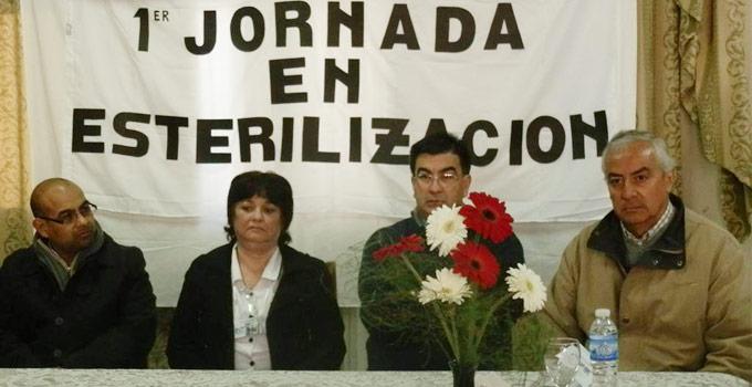 El Secretario de Salud Enrique Ferreyra participa de la Primera Jornada de Capacitación y Actualización en Esterilización