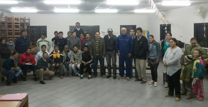 El Municipio de Bella Vista busca agrupar al sector de ladrilleros