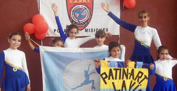Bella Vista en el podio del Torneo de Patín Artístico en Misiones