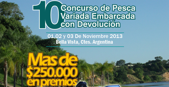 El Municipio de Bella Vista acompaña el lanzamiento del 10° Concurso de Pesca Variada Embarcada con Devolución