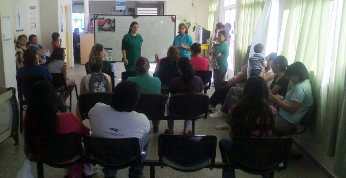 Actividades de promoción de Salud en el CIC Bella Vista