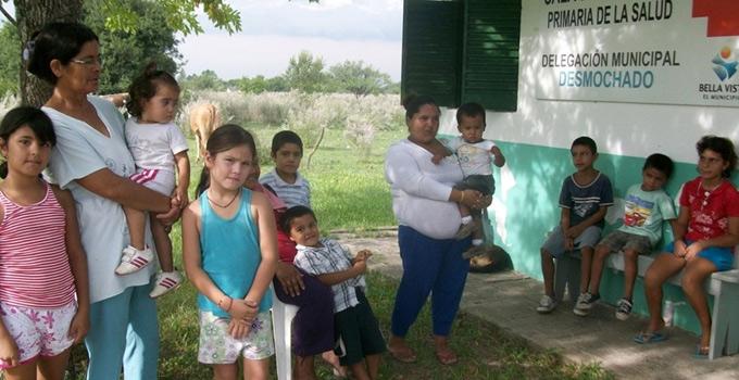 Desde la Secretaría de Salud se asiste a las SAPS de zonas rurales