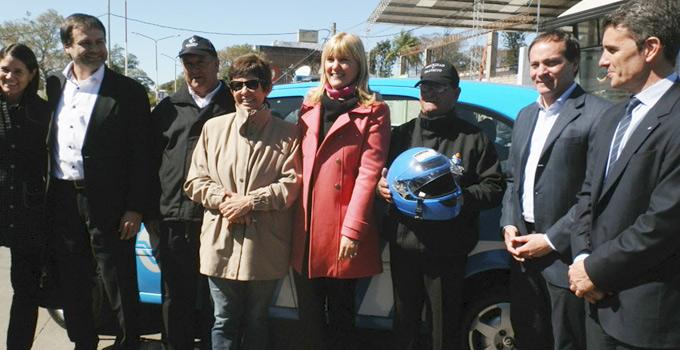 El Municipio de Bella Vista recibe herramientas para reforzar la Seguridad Vial