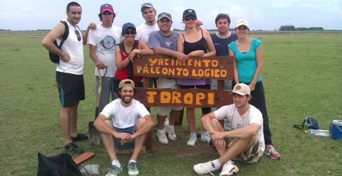 Turismo y guías trabajan en la delimitación de senderos en el Toropí