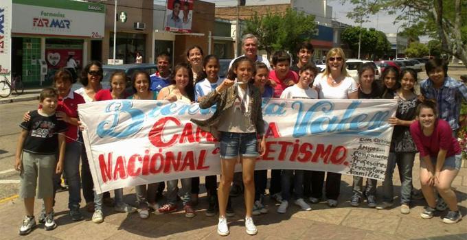 Bella Vista recibió a sus campeones que participaron del Torneo Evita