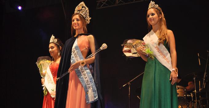 Dahiana Romero Viccini soberana de la XI Fiesta Nacional de la Naranja