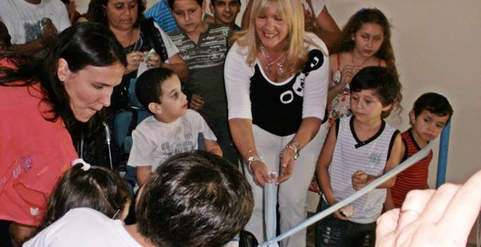 Nancy Sand inauguró en Bella Vista el 1er. Centro Municipal de Promoción para Personas con Capacidades Diferentes