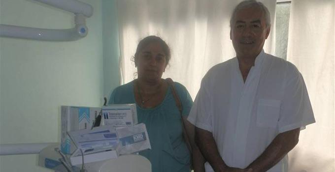 Entrega de equipamiento en el Dermatológico y el CIC