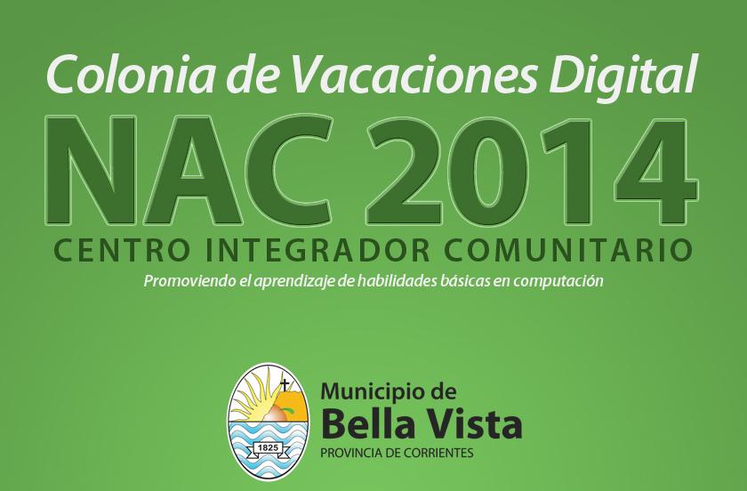 Inscriben para Colonia de Vacaciones Digital – NAC