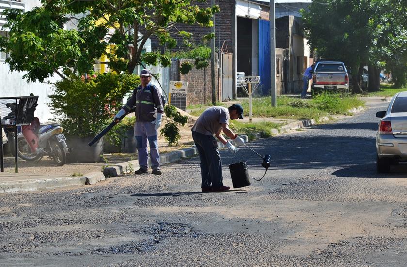 El municipio con tareas prioritarias desde Infraestructura