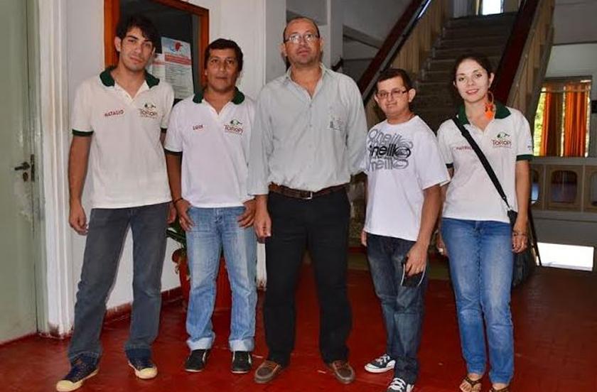 Turismo municipal con guías del Toropí