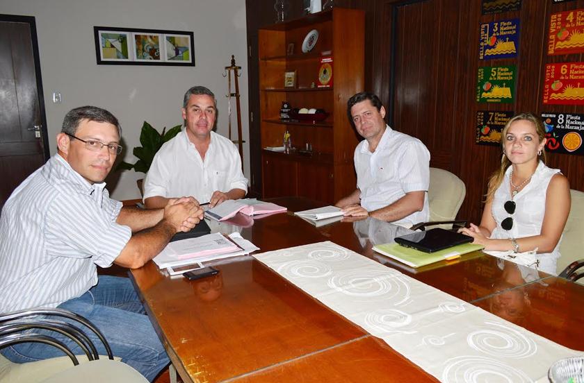 Cooperativas de Corrientes en visita oficial a Bella Vista