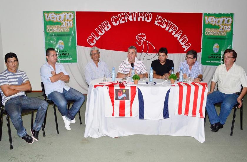 Estrada presentó su campaña en el Torneo del Interior 2014