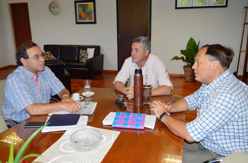 Chavez analizó las políticas públicas junto al diputado Tassano