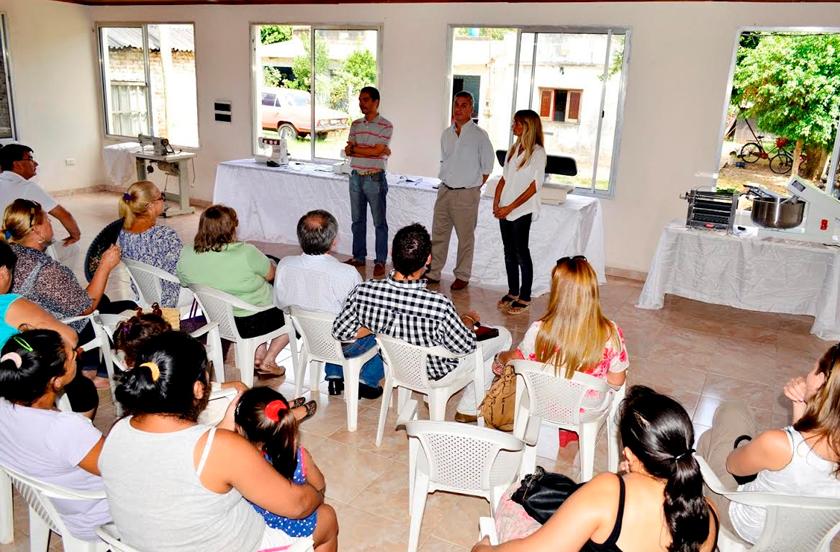 Inauguran Taller Comunitario en Barrio Norte