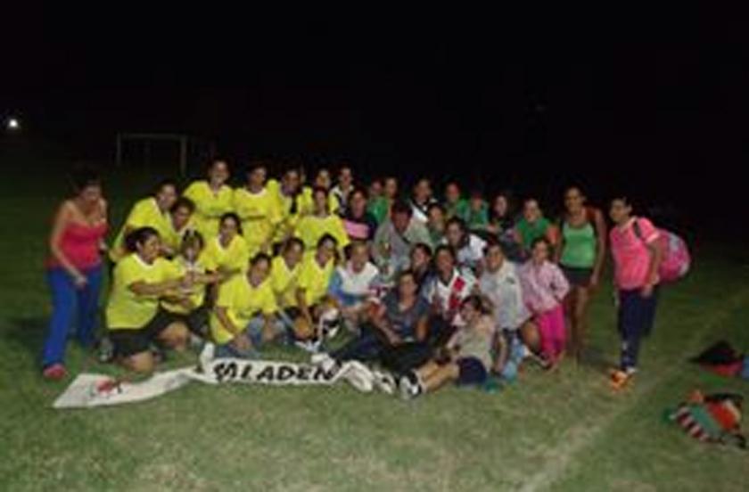 Fútbol femenino con premios en Saladas