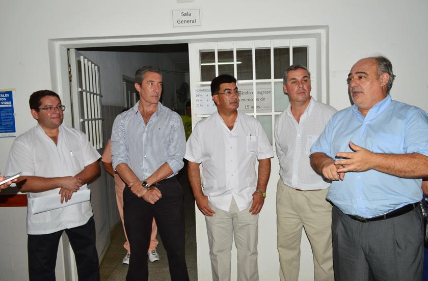 Colombi puso en funciones al nuevo director del Hospital Cabecera