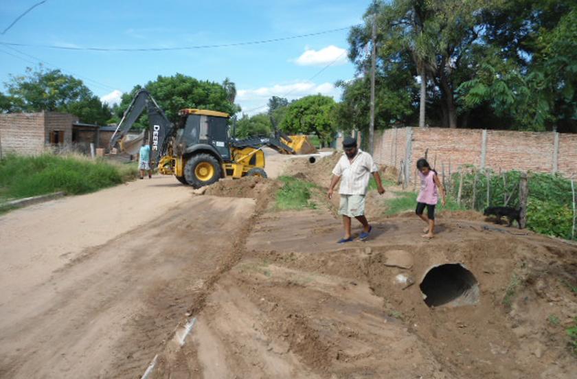 El gobierno local intensifica tareas de mejoramiento urbano