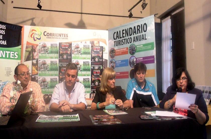 Se presentó en Corrientes el 8º Motoencuentro Internacional