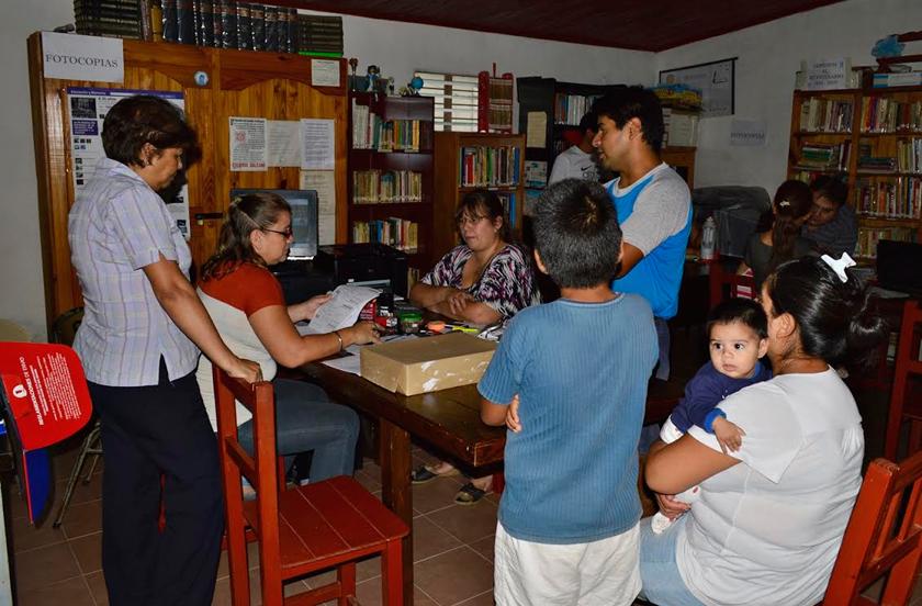 Operativos de descentralización en Barrio Sur