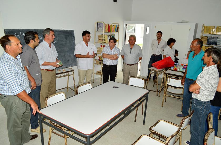 Actividad institucional en Colonia Progreso