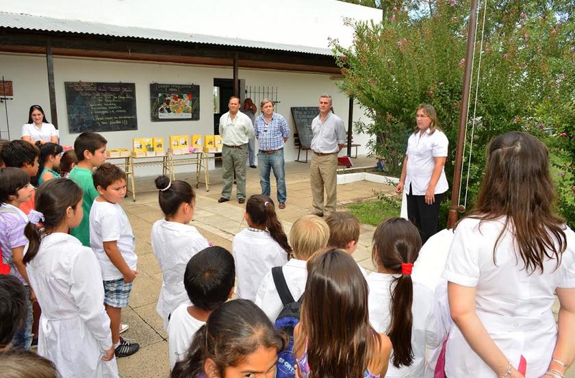 Presupuesto Participativo con proyecto en Escuela Nº 21