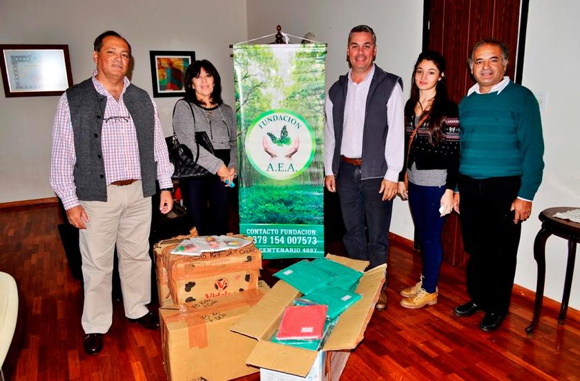 Visita de la Fundación AEA