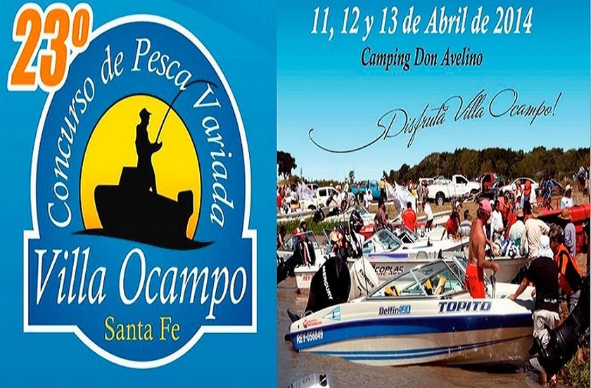 Variada embarcada de Villa Ocampo