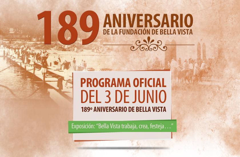 Programa Oficial para el 3 de junio