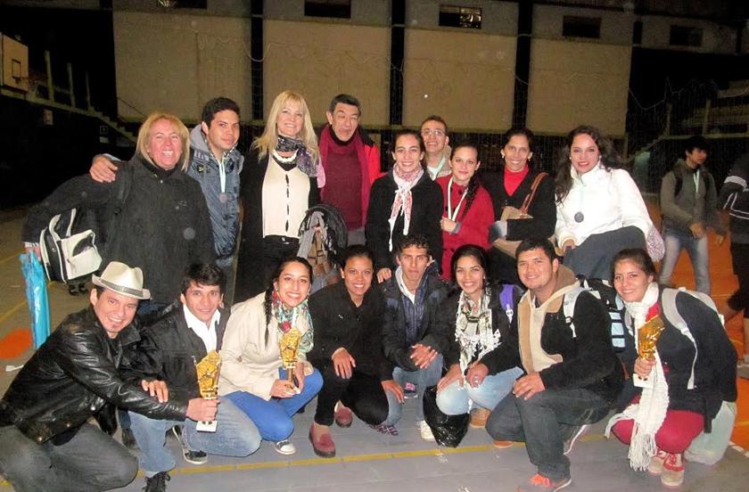 Bella Vista presente en el Interamericano de danza de Paso de los Libres